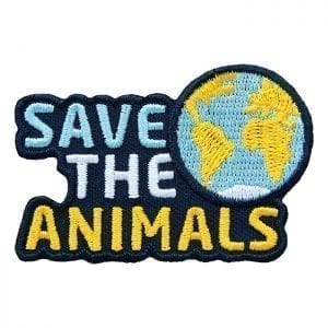 Save the Animals Abzeichen
