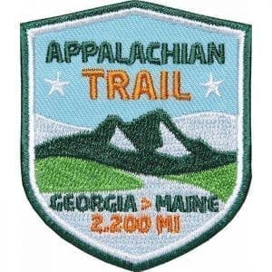 Appalachian Trail USA von Georgia nach Maine, Wanderweg, Trekking, Aufnäher, Patch, Patches, Flicken, Bügelbild