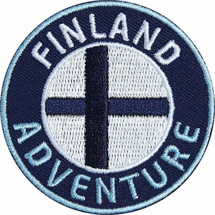 Finnland Aufnäher Patches, Finnland Flagge Fahne, Flagg-Patch