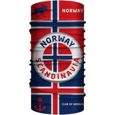 MultiFunktionstuch Norway Norwegen Bandana