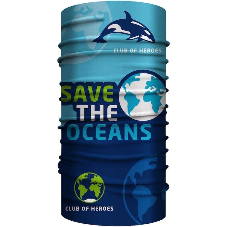 MultiFunktionstuch Save the Oceans - Meeresschutz